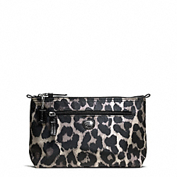COACH GETAWAY OCELOT PRINT COSMETIC POUCH - ONE COLOR - F77430