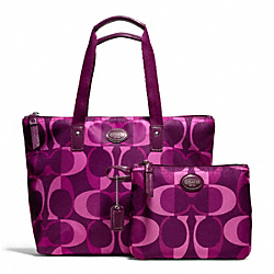 COACH F77456 - GETAWAY DREAM C SMALL PACKABLE TOTE ONE-COLOR