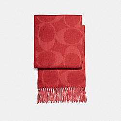 SIGNATURE C MUFFLER - BRIGHT RED - COACH F77673