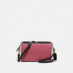 BENNETT CROSSBODY IN COLORBLOCK - ROUGE MULTI/GOLD - COACH F77685