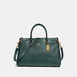MIA SATCHEL - IM/EVERGREEN - COACH F77884