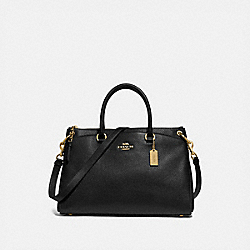 MIA SATCHEL - IM/BLACK - COACH F77884
