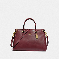 MIA SATCHEL - IM/WINE - COACH F77884