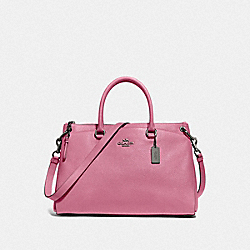 MIA SATCHEL - QB/PINK ROSE - COACH F77884