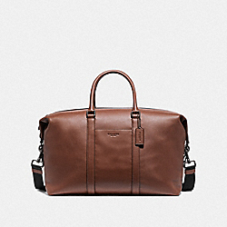 TREKKER BAG - SADDLE/BLACK ANTIQUE NICKEL - COACH F77921