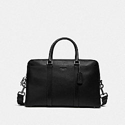 TREKKER CARRYALL - BLACK/BLACK ANTIQUE NICKEL - COACH F78130