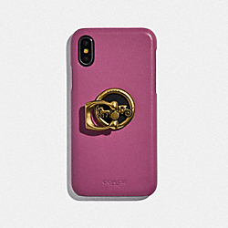 HORSE AND CARRIAGE PHONE GRIP - GD/GOLD - COACH F78365