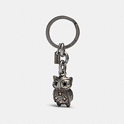 OWL KEY CHAIN - SV/SILVER - COACH F78367