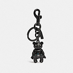STAR WARS X COACH DARTH VADER BEAR BAG CHARM - DARK GUNMETAL - COACH F78818