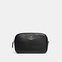 CONVERTIBLE BELT BAG - BLACK/GOLD - COACH F79210