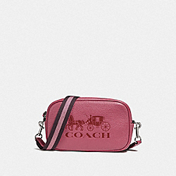 CONVERTIBLE BELT BAG - ROUGE/SILVER - COACH F79212