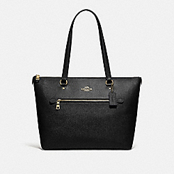 GALLERY TOTE - IM/BLACK - COACH F79608