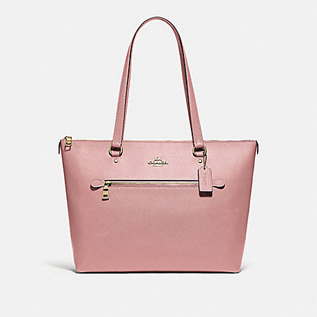 COACH GALLERY TOTE - IM/PINK PETAL - F79608