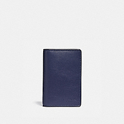 CARD WALLET IN COLORBLOCK - QB/CADET/LT PERIWINKLE MULTI - COACH F79802
