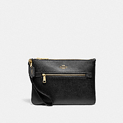 GALLERY POUCH - IM/BLACK - COACH F79895