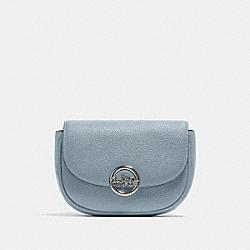 JADE MINI BELT BAG - SV/PALE BLUE - COACH F79941