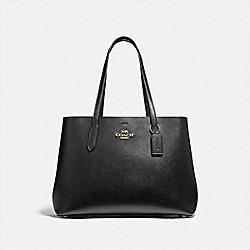 LARGE AVENUE CARRYALL - IM/BLACK OXBLOOD 1 - COACH F79988