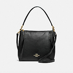MARLON HOBO - IM/BLACK - COACH F79994
