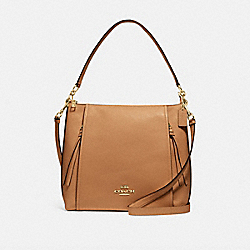 MARLON HOBO - IM/LIGHT SADDLE - COACH F79994