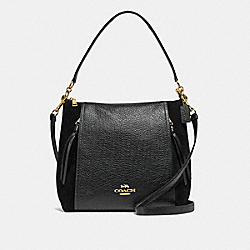 MARLON HOBO - IM/BLACK - COACH F79995