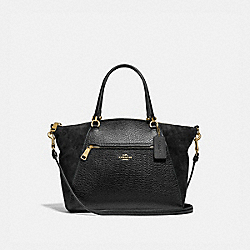 PRAIRIE SATCHEL - IM/BLACK - COACH F79999