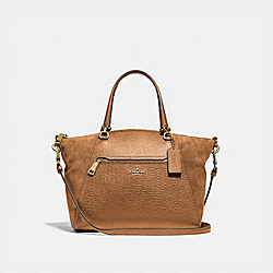 PRAIRIE SATCHEL - IM/LIGHT SADDLE - COACH F79999