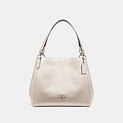 HALLIE SHOULDER BAG - SV/PLATINUM - COACH F80271