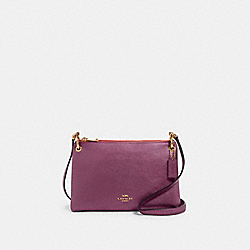 MIA CROSSBODY - IM/METALLIC BERRY - COACH F80333