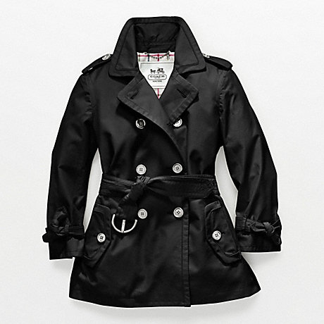 COACH ALEXIS TRENCH - BLACK - f82391