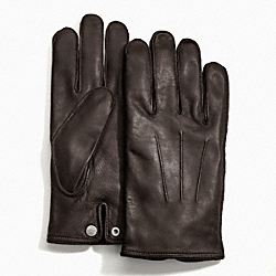 COACH CASHMERE LINED GLOVE - ONE COLOR - F82604