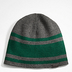 STRIPE MERINO KNIT HAT