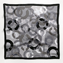 COACH PIECED OP ART 27X27 - ONE COLOR - F82755