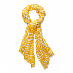 ZEBRA OBLONG - YELLOW - COACH F82758