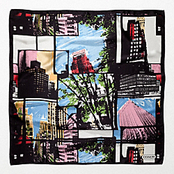 NEW YORK CITY SCAPE 32X32 COACH F82763