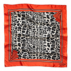 COACH OCELOT 27X27 SCARF - ONE COLOR - F82774