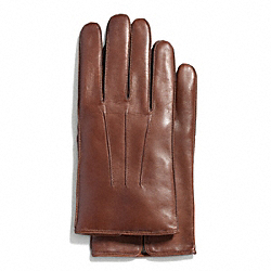 COACH BASIC NAPPA GLOVE - FAWN - F82863