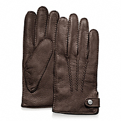 COACH DEERSKIN GLOVE - ONE COLOR - F82867