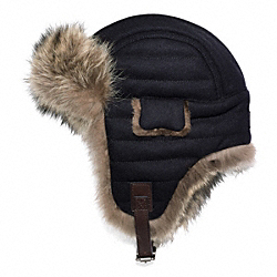 COACH WOOL TRAPPER - ONE COLOR - F83082