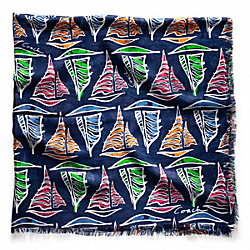COACH SAILBOAT 44X44 - ONE COLOR - F83543