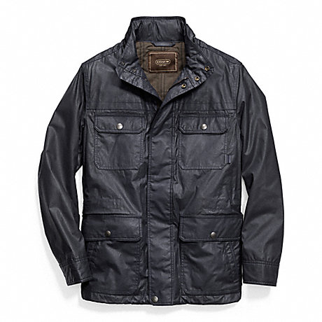 COACH WAXED COTTON FIELD JACKET -  - f83616