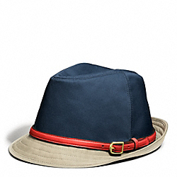 COACH SOLID FEDORA - ONE COLOR - F83633
