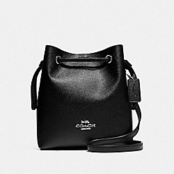 LENA CROSSBODY - SV/BLACK - COACH F83718