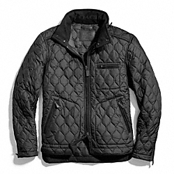 COACH BOWERY QUILTED RACER JACKET - ONE COLOR - F83741