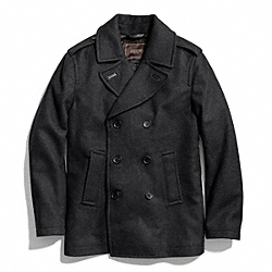 WOOL PEACOAT COACH F83747