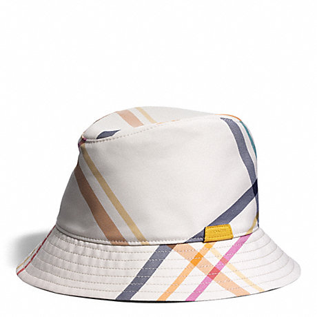 COACH f83809 TATTERSALL FEDORA MULTICOLOR