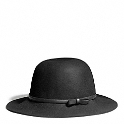 COACH MOLDED FELT HAT - ONE COLOR - F83839