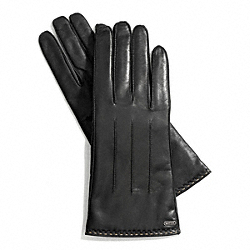 LEATHER TECH GLOVE COACH F83867