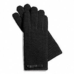 COACH KNIT BOW GLOVE - ONE COLOR - F83883