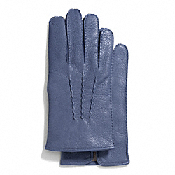 COACH DEERSKIN GLOVE - ONE COLOR - F83896