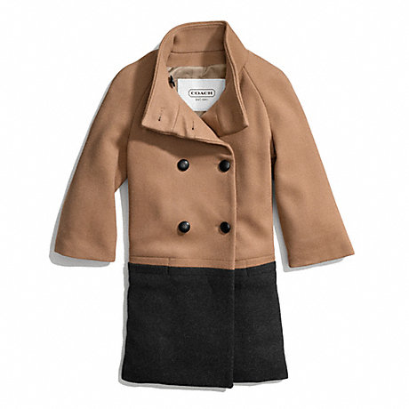 COACH PARK COLORBLOCK BRACELET SLEEVE COAT -  - f83990